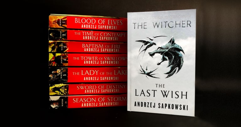 the witcher books introduction