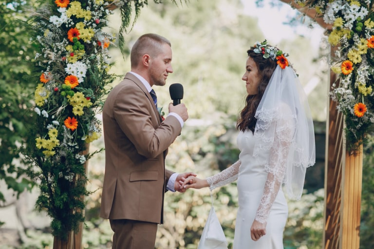 how long should wedding vows be